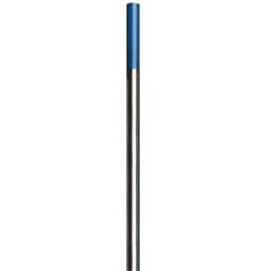10 elettrodi Tungsteno Lantanio BLU per saldatura TIG universale, lunghezza 175 mm