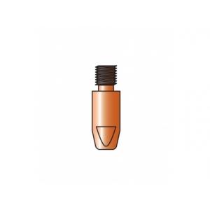10 tubetti di contatto TRAFIMET per saldatura acciaio-acciaio inox M8