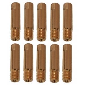 3 tubetti di contatto per saldatura alluminio DECA