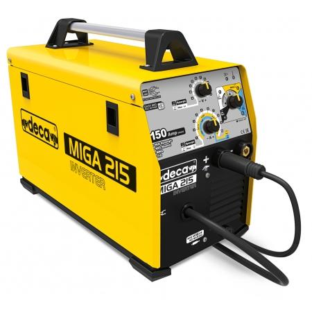 Deca Miga 215 Multiprocess welding machine (MMA, MIG MAG, TIG)
