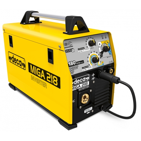 Deca Miga 218 Multiprocess welding machine (MMA, MIG MAG, TIG)
