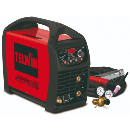 TELWIN Technology Tig 222- AC / DC Tig welding machine