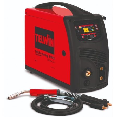 Telwin Technomig 240 Wave multi-process welding machine