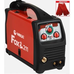 Saldatrice Multiprocesso Helvi Fox 211 Digital (MMA, MIG MAG, TIG)