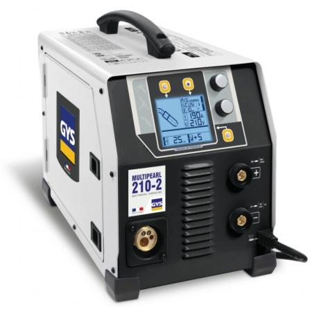GYS Multi PEARL 210-2 Multiprocess welding machine (MMA, MIG MAG, TIG)