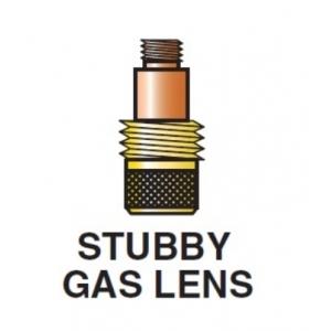 2 diffusori STUBBY GAS LENS per torcia tig 17 - 18 - 26